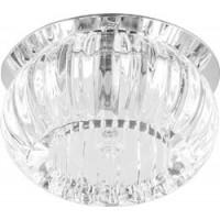 Светильник встраиваемый Feron C1010 потолочный JCD9 G9 прозрачный, хром