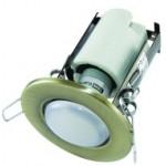 Светильник встраиваемый СВ 01-04 R63 75Вт Е27 бронза TDM