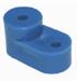 Изолятор угловой синий TDM
